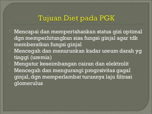 Rekomendasi Pola Makan untuk Penyakit Gagal Ginjal Pada Anak