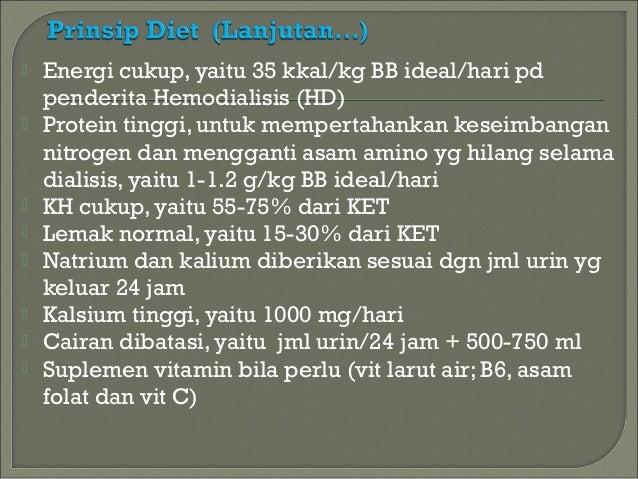 Makanan yang Harus Dikonsumsi Pasien Dialisis (Cuci Darah)