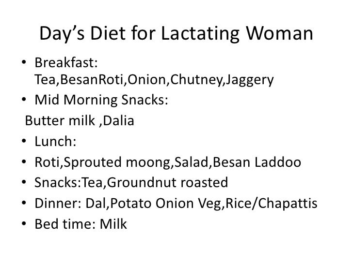 Meal Plans For Pregnant Women