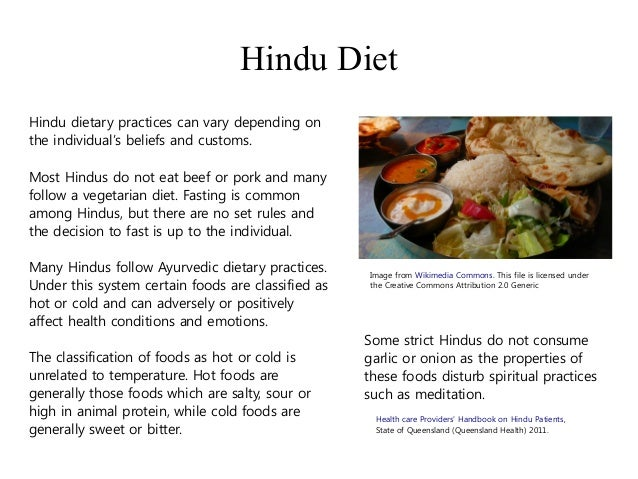 Hinduism Food They Eat