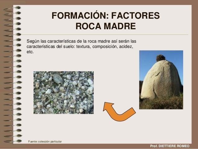 El suelo y su composici n for Roca definicion