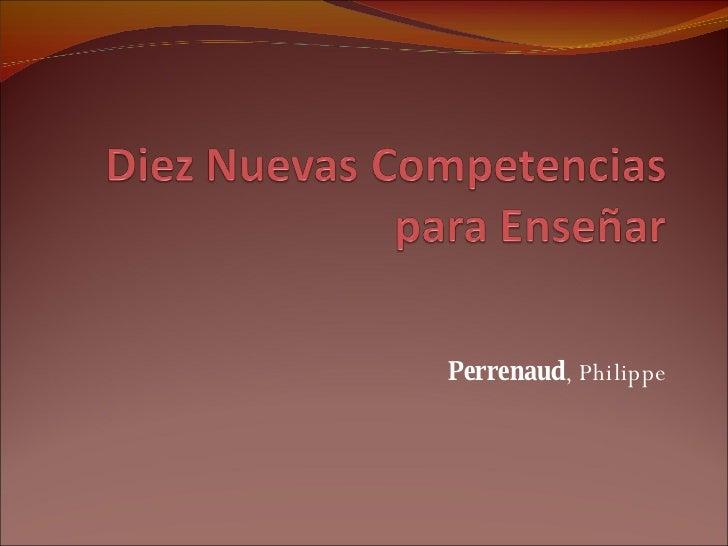 Perrenaud , Philippe