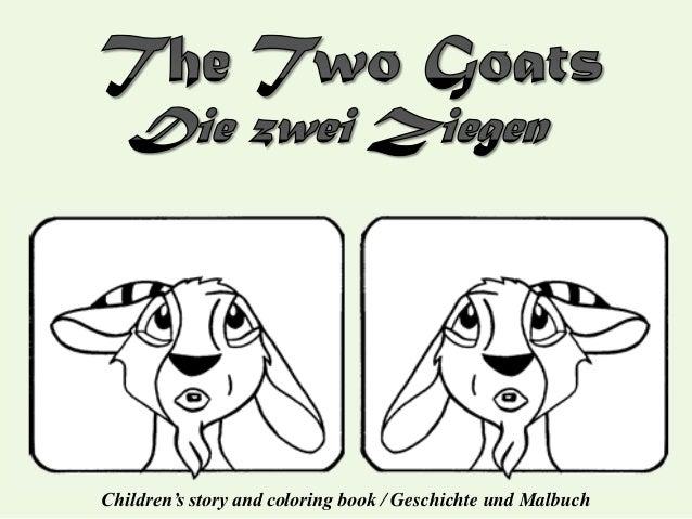 Children's story and coloring book / Geschichte und Malbuch