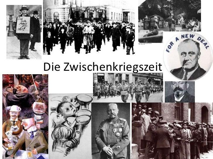 Die Zwischenkriegszeit<br />