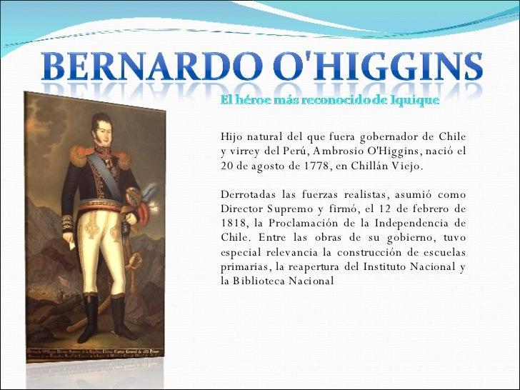 Grandes Personajes Para La historia De Chile