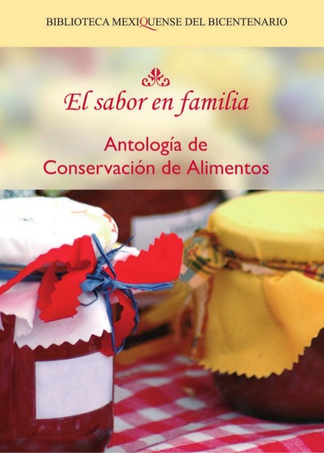 Manual de Conservación de Alimentos Primera edición 2007 DR C Sistema para el Desarrollo Integral de la Familia del Estado...