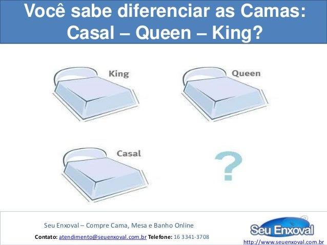 Diferen a entre camas casal queen e king for Medidas para cama king size