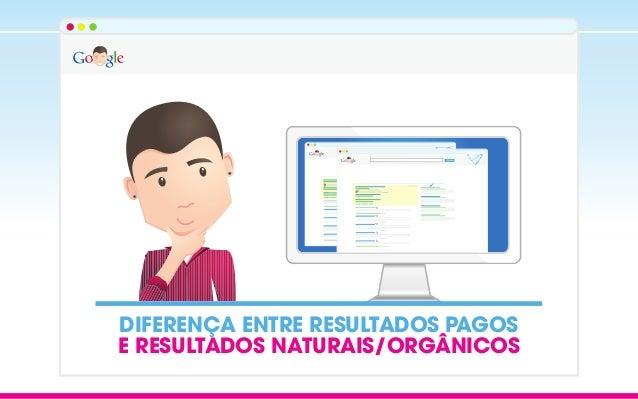 DIFERENÇA ENTRE RESULTADOS PAGOS E RESULTADOS NATURAIS/ORGÂNICOS Search Search
