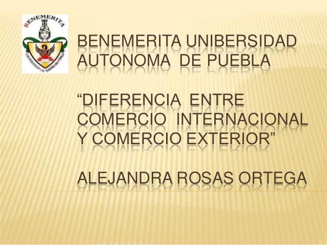 Diferencia entre comercio internacional y exterior for Comercio exterior