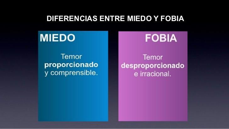 Diferencia entre fobia y miedo for Diferencia entre yeso y escayola