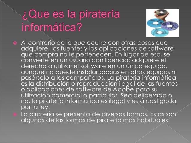 Diferencia entre pirater a y falsificaci n for Diferencia entre licencia de apertura y licencia de actividad