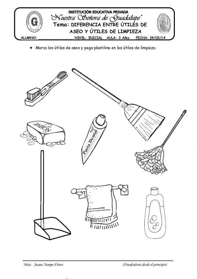 Diferencia entre utiles de aseo y de limpieza for Imagenes de utiles de aseo