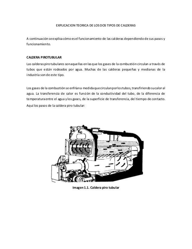 Cuadro de comparaci n de calderas pirotubulares y - Tipos de calderas de gas natural ...