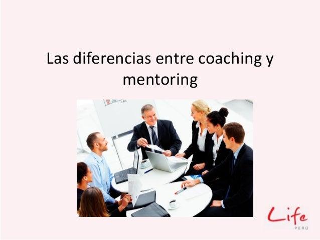 Las diferencias entre coaching y mentoring