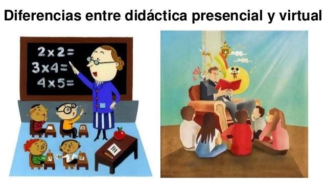 Diferencias entre didáctica presencial y virtual
