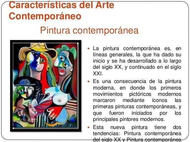 Diferencias entre lo moderno y contempor neo del arte for Caracteristicas del contemporaneo