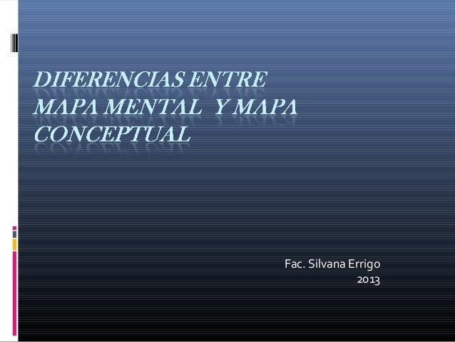 Fac. Silvana Errigo              2013