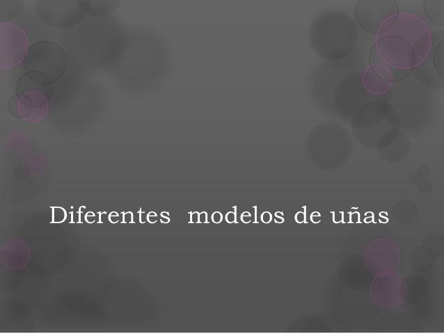 diferentes modelos de uas