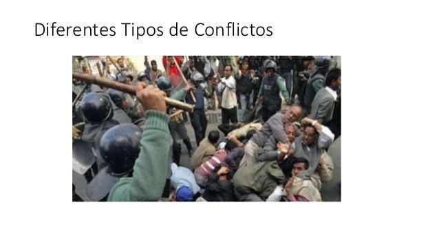 Diferentes Tipos de Conflictos