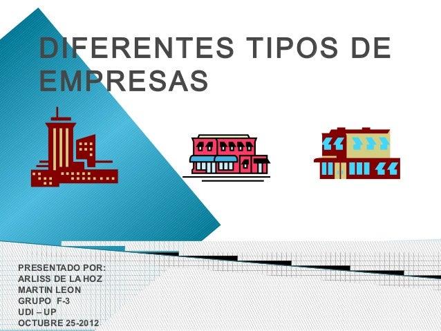 Diferentes tipos de empresas for Empresas de pavimentos de hormigon