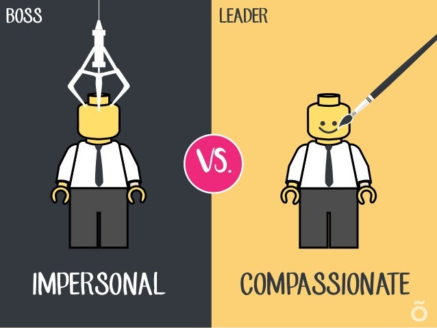 The Difference Between A Boss And A Leader  Slide 2