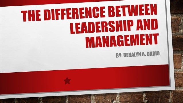 Leaders are…