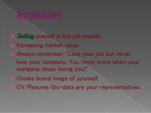 Difference between a curriculum vitae (cv),