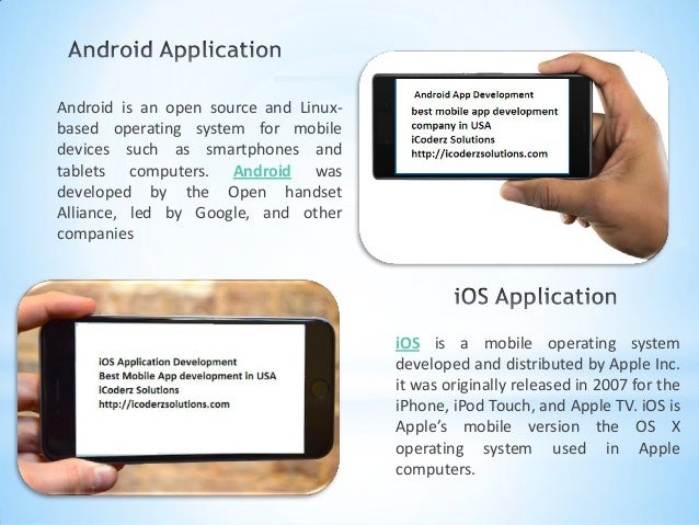Difference between android & iOS