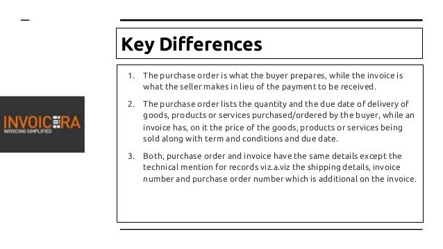 what is difference between proforma invoice and invoice