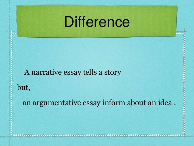 descriptive essay vs narrative essay