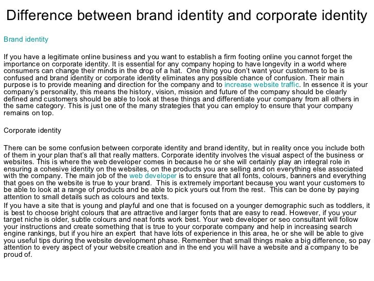 the difference between brand identity and brand equity What is the difference between brand equity and brand value save cancel already exists would you like to merge what is the difference between brand and trademark.