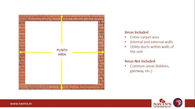 Difference Between Carpet Area And Plinth Area