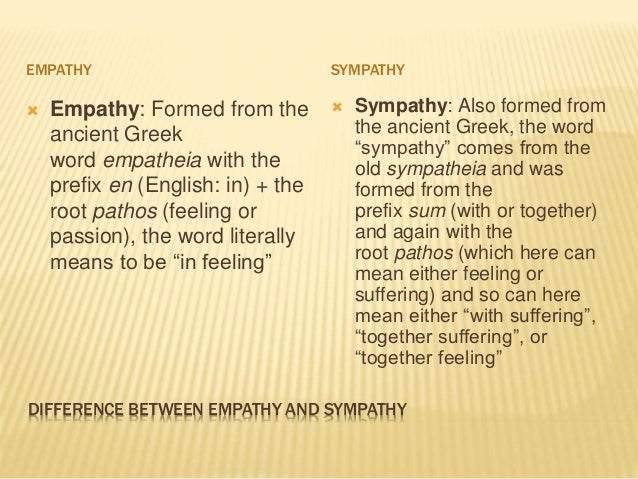 Difference between empathy and sympathy Conversation skills Importanc…