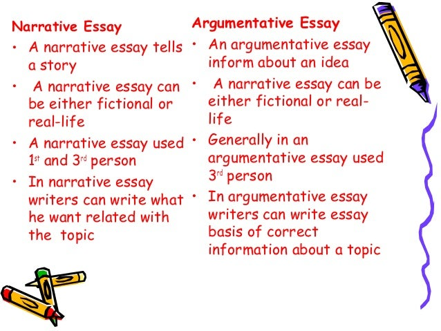 Difference between essays