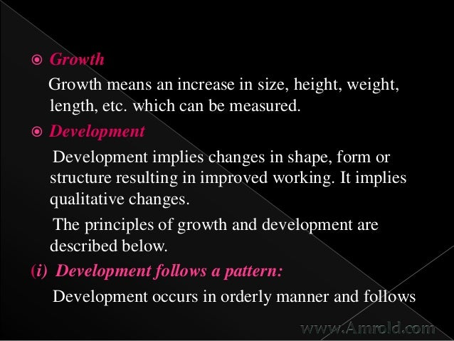difference in growth and development What is pediatrics | difference between growth and development growth and development depend upon multiple difference between growth and development.
