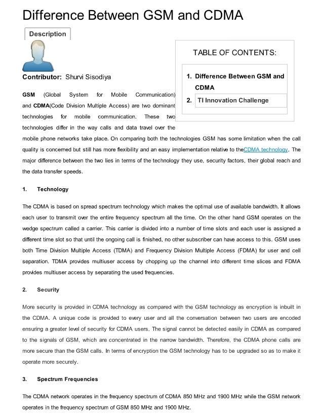 Gsm vs. Cdma an overview bhushan g. Jagyasi ppt video online.