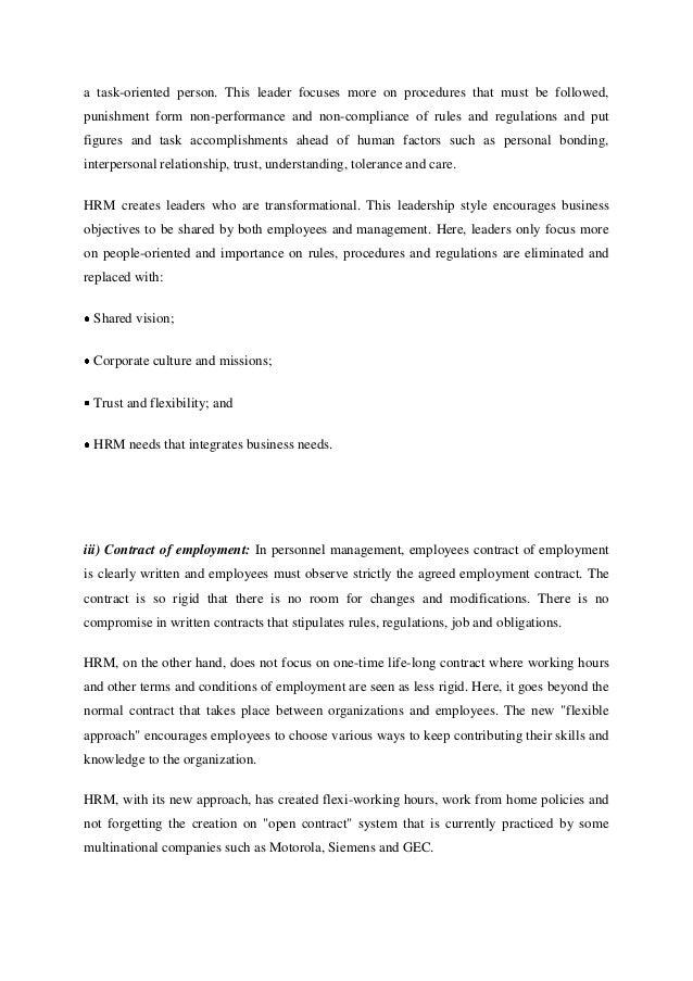 hr devolution to line management