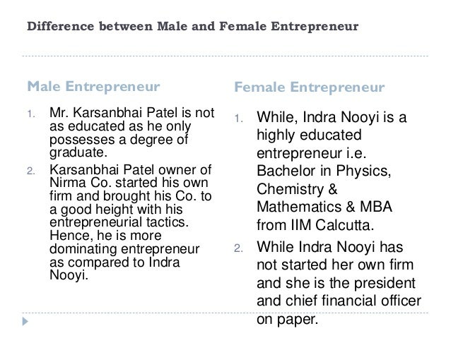 Difference of entrepreneurship between usa and
