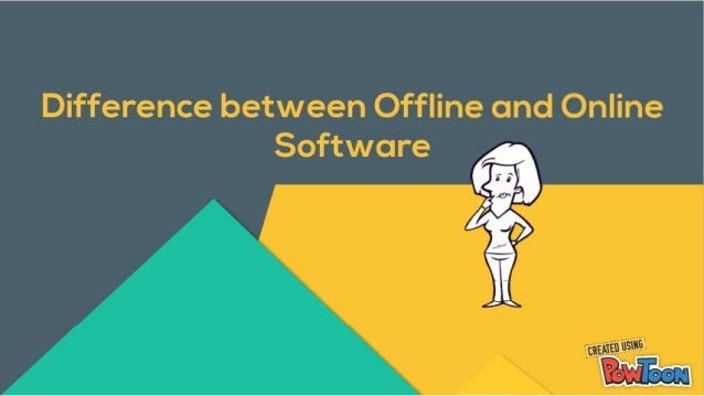 Difference between Online and Offline Software | Spine Software