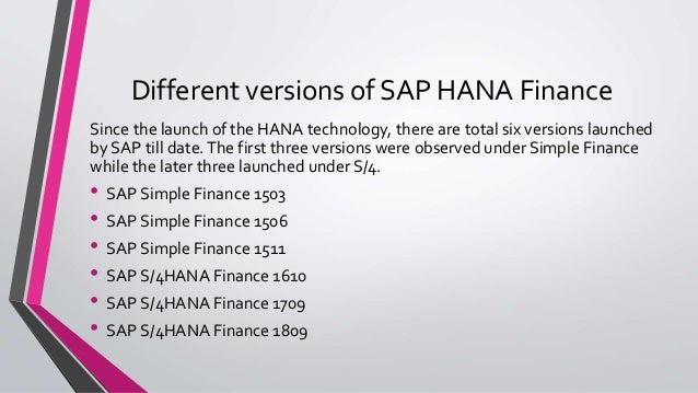 Difference Between SAP S/4HANA Finance And SAP Simple Finance