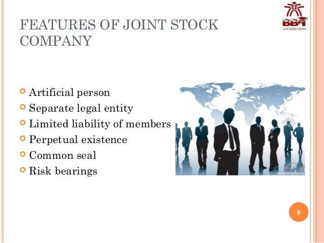 joint stock company Joint-stock company: joint-stock company, a forerunner of the modern corporation that was organized for undertakings requiring large amounts of capital money was raised by selling shares to investors, who became partners in the venture.