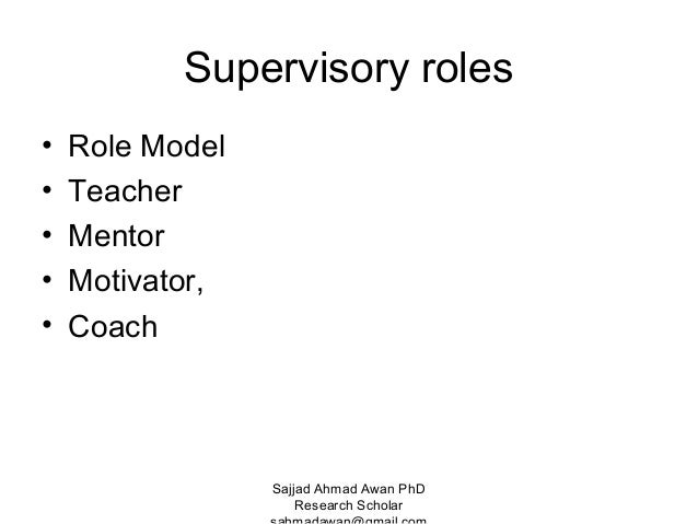 Difference between supervision and monitoring by sajjad awan