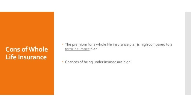 Cons Of Whole Life Insurance - Thismuchistrue Karen
