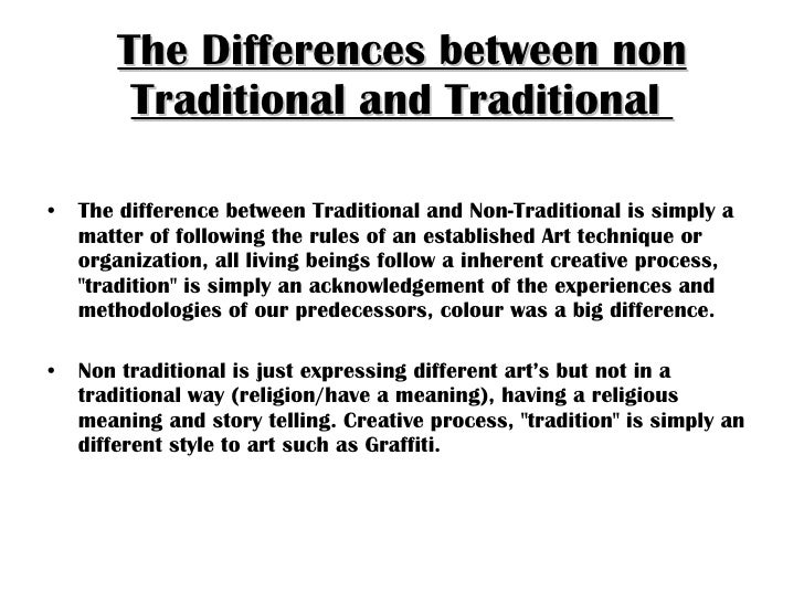 differences between traditional and non traditional Agile vs traditional project management here is an observation on the comparison between agile and traditional project management fundamental differences between agile and traditional approaches to project management.