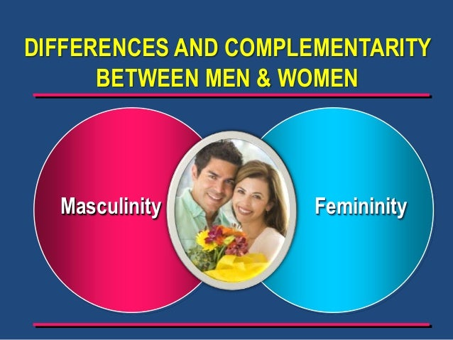 differences between men and women 1 Small-scale experiment to explore the differences in body image between men and women the results replicate earlier research findings.