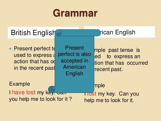 punctuation differencies between american and british American english does use a comma in lists before and:  in british english the date is usually given in the order day, month, year we use full stops in dates.