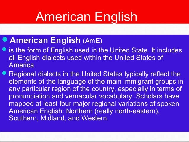 english and american essays American english also known as united states english, or us english) is a set of dialects of the english language used mostly in the united.
