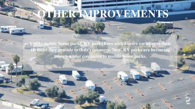 Mobile Home Parks Do Not Offer Such Facilities 4 6