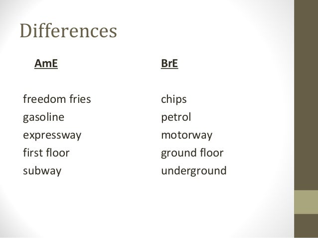 Differences between british english and american english for Ground floor vs first floor