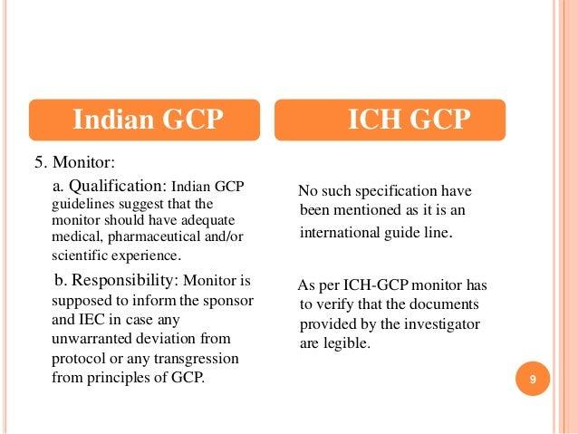 indian gcp ich gcp 9